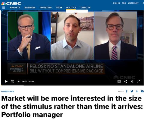 CNBC Interview Screenshot